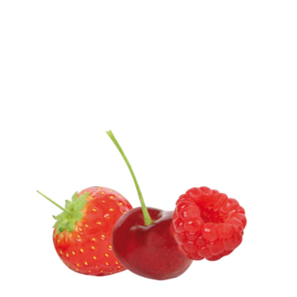 relleno de mikado de frutos rojos