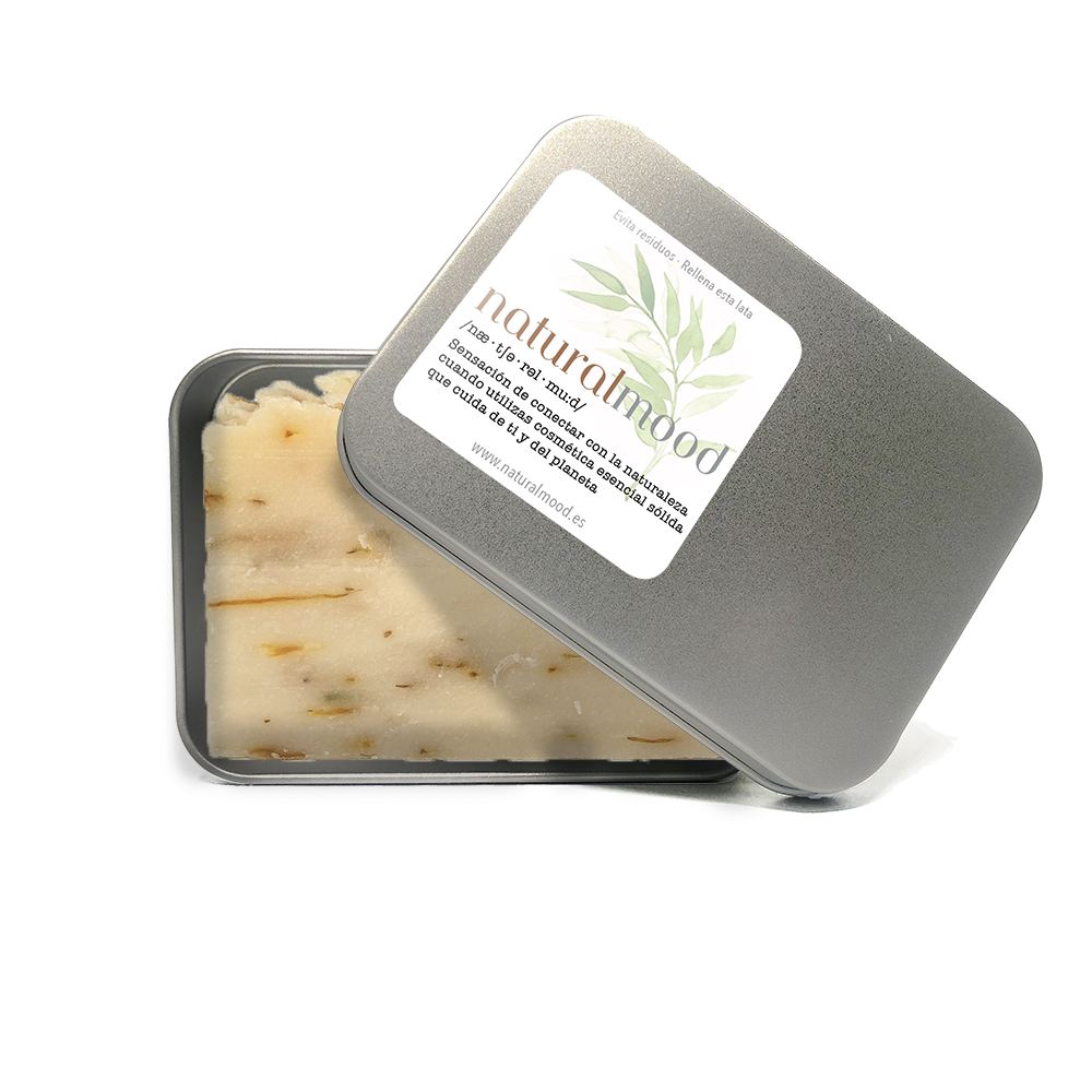 jabón artesano de aceite de oliva con caléndula