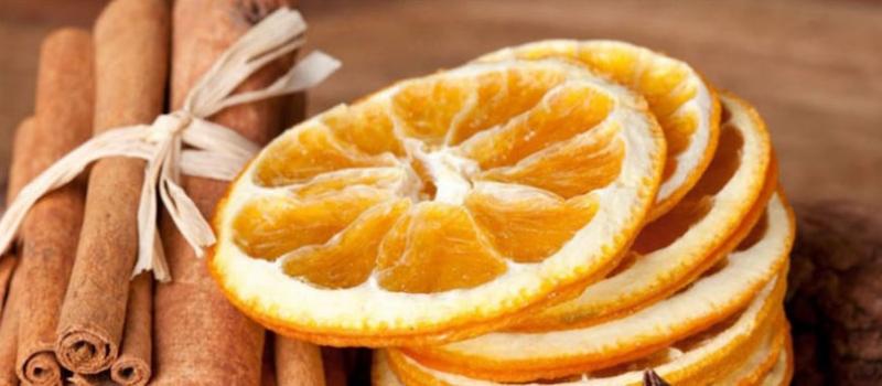 naranja y canela ambientador
